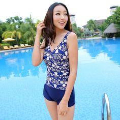 bddf9a1e51 Bribed 2013 hot spring swimsuit wind female swimwear one piece Long Johns