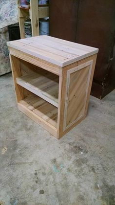 Wooden Pallet Bedside Table With New Ideas Photo Diy Pallet Nightstand Or Side Table 99 Pallets