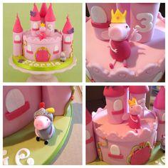 Peppa Pig birthday cake!