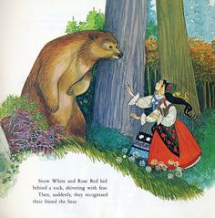 Snow White & Rose Red, illustrated by Sheilah Beckett