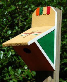 Wilderness Series WSBH118 Cliff Hanger Two Bird House - Bird House Showroom