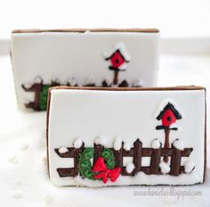 Guest post from Hanielas...A Picket Fence Cookie! - At The Picket Fence