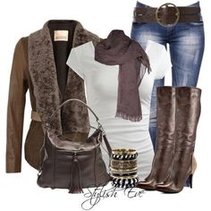 Stylish Eve Casual Clothes | Stylish Eve Fashion Accessories Outfits Winter Collection 2013 (16)