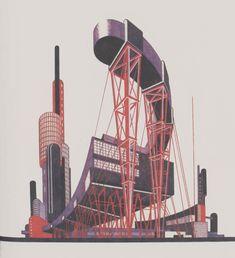 Iakov Chernikhov #design #architecture