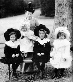 Grand Duchesses Tatiana, Anastasia, Olga and Marie