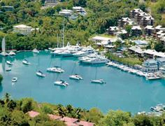St Lucia Marinas | Sailing in St Lucia