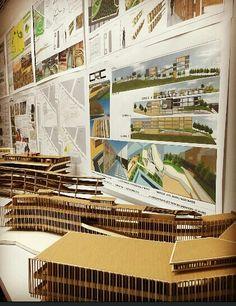 Entrega Taller IX  centro recreativo y cultural  Con Yanelly R-J  UFPS Cùcuta Academia, Atelier, Centre, Architecture