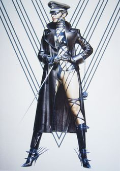 Hajime Sorayama - Erotic Pin-Up Art And Illustration, Dark Fantasy Art, Fantasy Girl, Drawn Art, Fashion Model Poses, Leather Lingerie, Goth Art, Fetish Fashion, Pulp Art