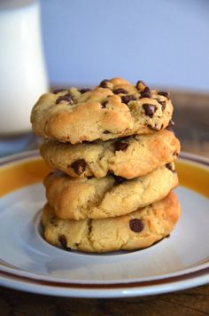 Classic Chocolate Chip Cookies. Thick, chewy, and SUPER soft. Extra butter, more brown sugar, and an additional egg yolk make these chocolate chip cookies special.