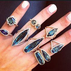 Suzanne Kalan-Statement Rings for Days!
