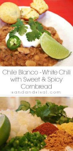 Tested - Pretty good, needs something to add a little depth.   Chile Blanco - White Chili