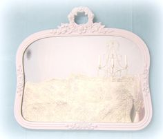 ANTIQUE Mirror FRENCH COUNTRY Home Decor Antique by RevivedVintage, $164.00