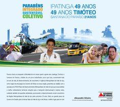 AD Jornal homenagem de Aniversário das Cidades de Ipatinga e Timóteo