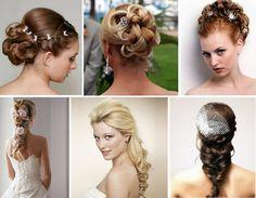O casamento é sempre um dilema, seja para a noiva, convidadas ou madrinhas, ficamos em dúvida do que usar, do que calçar e do que fazer no cabelo, por isso separamos algumas imagens para que você p...