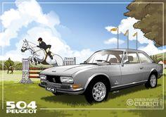 Les illustrations de christophe: Peugeot 504 Coupé