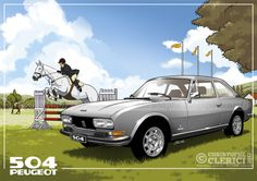 Les illustrations de christophe: Peugeot 504 Coupé