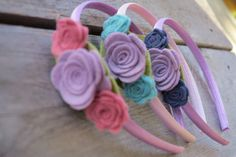 Floral Headband for Girls by therootstudio on Etsy