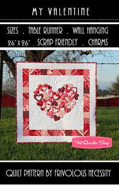 love this valentine quilt