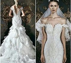 Wedding dress majid king