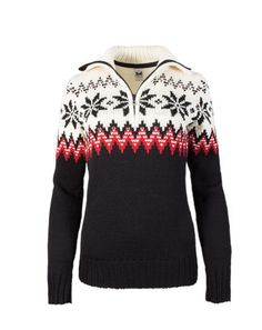 5bade935b14 New! dale of norway myking black rasp. fem wool sweater