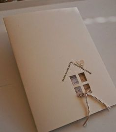 """4/23/2014; Brigitte at 'Blickfang' blog; great """"We've Moved,"""" or 'Welcome to the Neighborhood,"""" or Congratulations on your new Home cards!!!"""