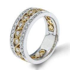 Shop online Arthurs Collection RAD-18017 Diamond Prong Set Yellow Gold Womens Wedding bands  at Arthur's Jewelers. Free Shipping