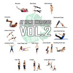 At Home Exercises Vol 2 - Full Body Workout Healthy Fitness Abs - Yeah We Train !