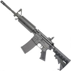 Shop Colt Carbine Semi Auto Rifle NATO Heavy Barrel 30 Rounds Polymer Hand Guard Collapsible Stock Matte Black and more from Cheaper Than Dirt! Military Weapons, Weapons Guns, Guns And Ammo, Custom Glock, Custom Guns, Semi Automatic Rifle, M4 Carbine, Cool Guns, Awesome Guns