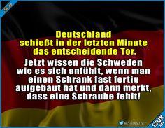 So fühlt sich das an! #Deutschland #Schweden #WM #WM2018 #Fußball #Sieg