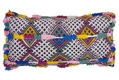 Moroccan Berber Sham w/ Fringe