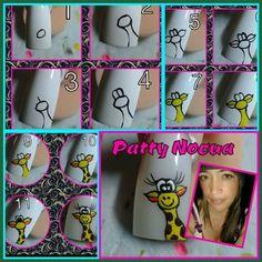 Uñas Whimsical, Nail Designs, Nail Art, Nails, Nail Stickers, Nail Design, Tutorials, Nail Art Tutorials, Little Girl Nails
