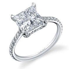 princess cut! #engagement ring