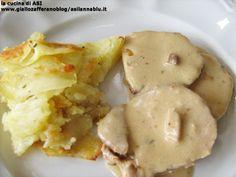Un classico della nostra cucina un sontuoso arrosto con il lombo di maiale con un sughetto buonissimo fatto con il latte! Ricetta secondo di carne La cucina di ASI