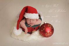 Необычные вязаные новогодние костюмы для новорожденных помогут сделать их первый в жизни Новый год и Рождество незабываемыми. И пусть наши маленькие крохи пока не понимают что такое праздник.   #необычная одежда