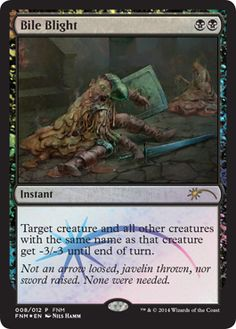 Magic the Gathering August's FNM Promo Card