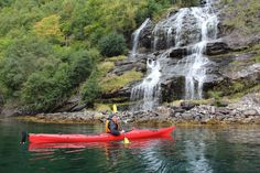 Kayak à Geiranger