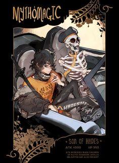 Percy Jackson Fan Art, Percy Jackson Memes, Percy Jackson Books, Percy Jackson Fandom, Solangelo, Percabeth, Son Of Hades, Fanart, Trials Of Apollo