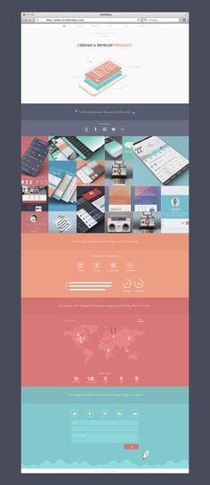 New Portfolio Site (WIP) by Balraj Chana // Very pretty palette! Mobile Web Design, Web Ui Design, Branding Design, Web Portfolio, Portfolio Design, Web Layout, Layout Design, Tableau Design, Apps