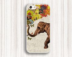 floral elephant iphone  5c cases  cool iphone 5s cases by Emmajins, $9.99