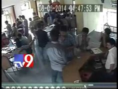 CC TV visuals of students before final journey