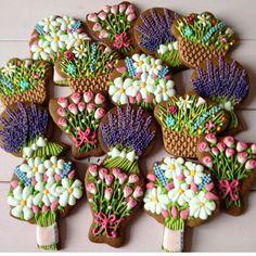 Bouquets, bouquets, bouquets of spring flowers