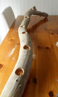 Restoration House: Driftwood candle holder tutorial...