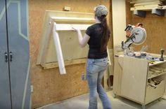 DIY Folding Workbench - Wilker Do's