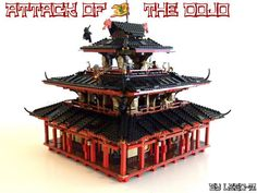 """""""Attack of the dojo"""" Theme : Ninjago Number of parts : (Full version 2643) Number of figs ; 9 Particularity : This set is different that everything you cou..."""