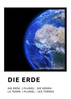 die Erde | la terre (Terre)