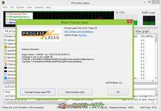 Process Lasso 8.0.2.7 Beta  Process Lasso--Process Lassoについて--オールフリーソフト