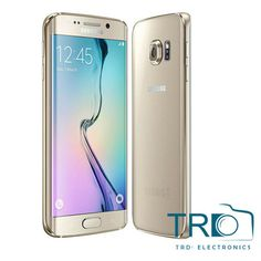 """The Samsung Galaxy S6 Edge features an impressive dual edge 5.1"""" Super AMOLED screen, which is designed to produce bright images with robust color reproduction"""