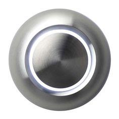 Spore True Aluminum Modern Doorbell Button - 50usd...but truly a nice door bell!