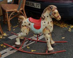 Old rocking horse Antique Rocking Horse, Rocking Horse Toy, Vintage Horse, Carosel Horse, Carrousel, Wooden Horse, Painted Pony, Hobby Horse, Pull Toy