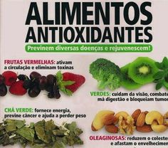 1000 images about antioxidantes on pinterest salud omega 3 and cancer - Antioxidantes alimentos ricos ...